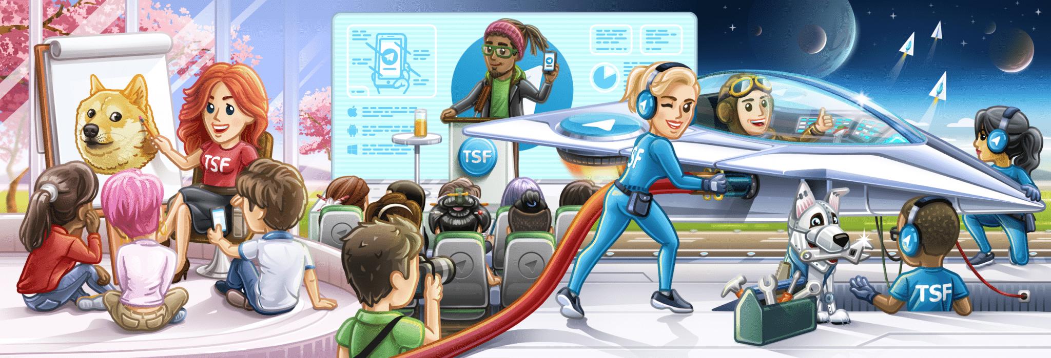 نحوه ساخت کانال تلگرام