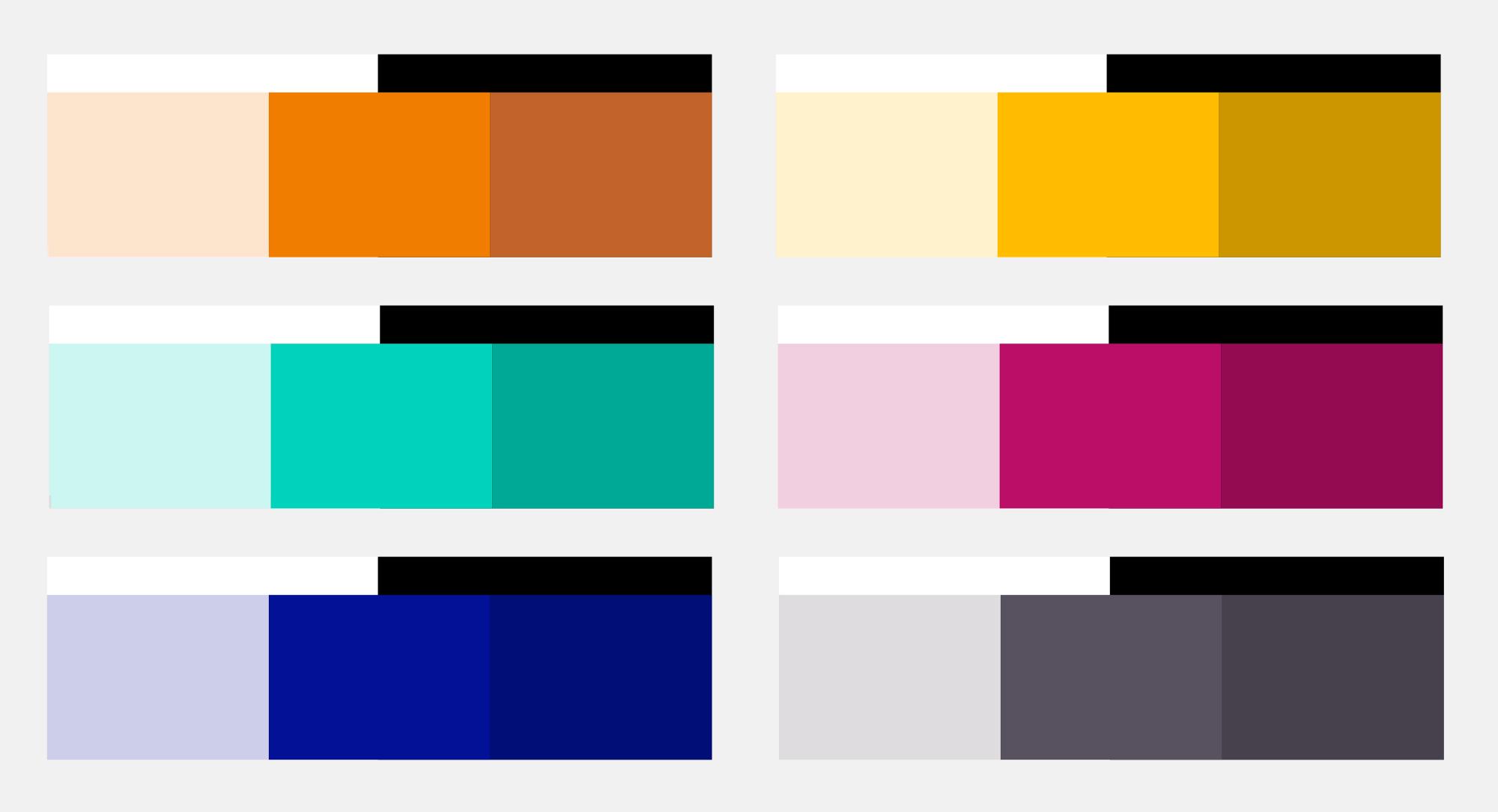 در صفحه اینستاگرام کسب و کارتان حتما به رنگ ها توجه کنید