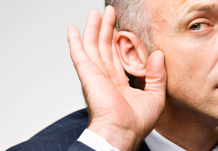 سه قدرت گوش دادن